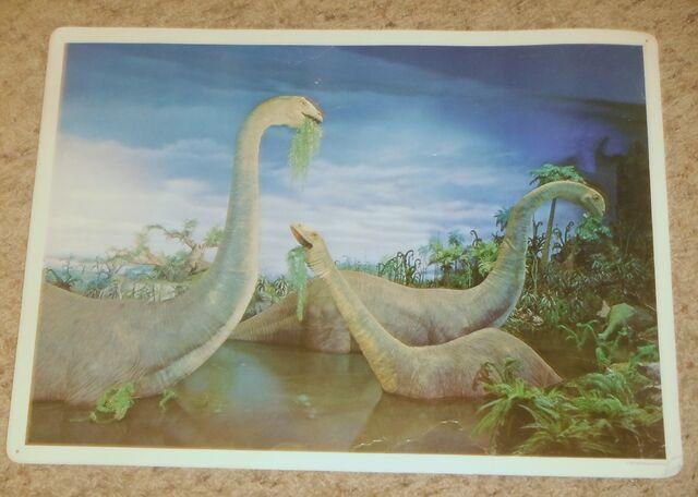 File:Primeval World Brontosaurus card front.jpg