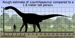 Lourinhasaurus-size