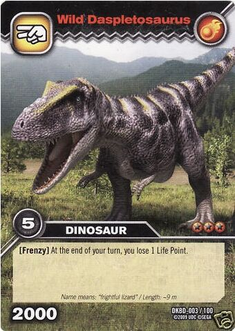 File:Daspletosaurus-Wild TCG Card.jpg