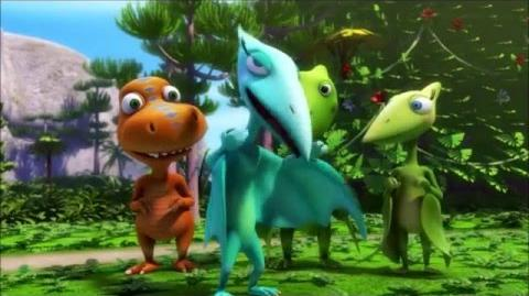 Dinosaur Train season 4 Trains Submarines and Zeppelins 1 2