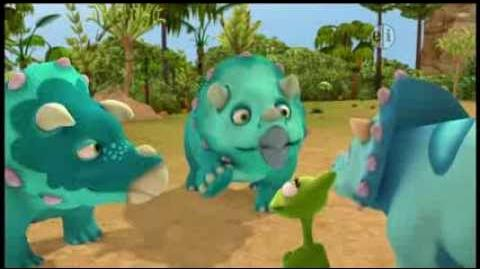 Dinosaur Train S01 Triassic Turtle Tank's Baby Brother ENGLISH