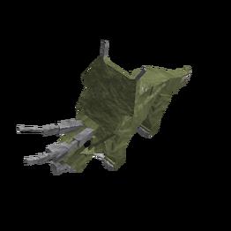 Deep jungle triceratops