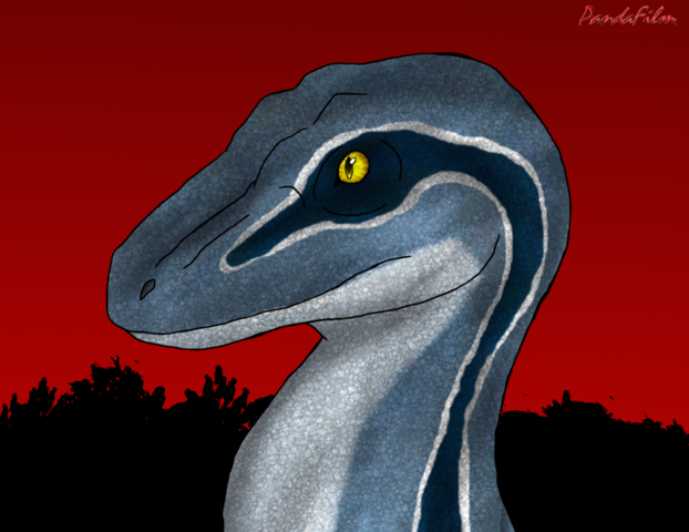 File:Velociraptor blue of the raptor squad by pandafilms-d8xoa8z.png