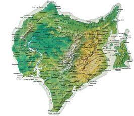 Dinotopia map