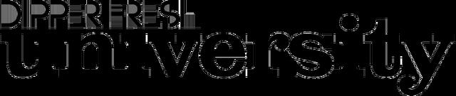 File:Dipper Fresh University logo transparent black cropped.png