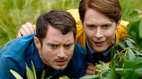Dirk Gently's Holistic Detective Agency - COMIC-CON SNEAK PEEK - Oct 22 on BBC America