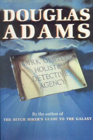 File:Dirk Gently's Holistic Detective Agency First UK Hardcover Edition.jpg