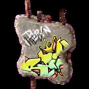 Trinket - Classy Art Hole - Graffiti Bite