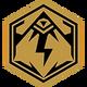 Godlike (Badge)