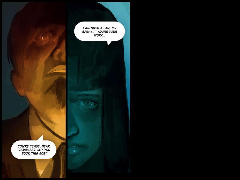 Rogue en Vogue Update - Comic - MercSERV Archive Bashki Case - 12