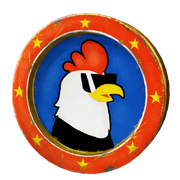 Trinket - Classy Art Hole - Totally Awesome Chicken