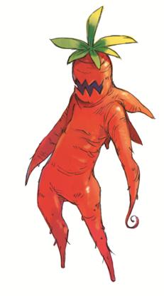 Carrot dude