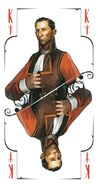 Tarot king swords