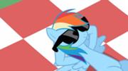 180px-Rainbow Dash chillin' S02E03