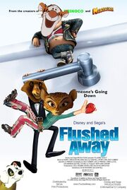 Flushed Away (Disney and Sega Version) Poster