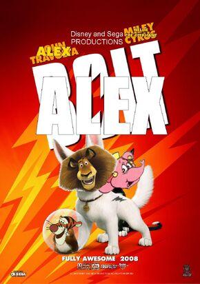 Alex (Bolt) Poster