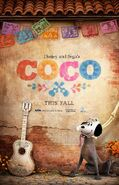 Coco (Disney and Sega Version) Poster