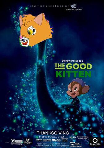 File:The Good Kitten (Disney and Sega Style) Poster.jpg