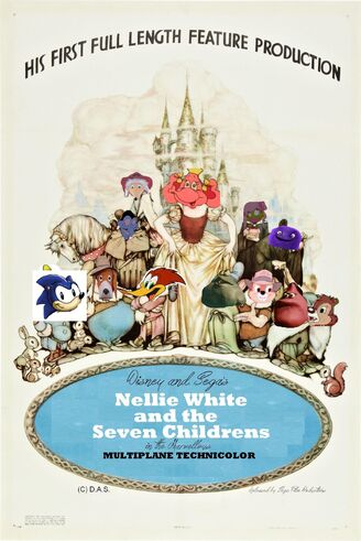 Nellie White and the Seven Childrens Poster