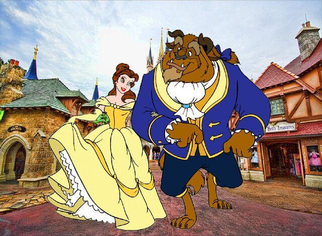 File:Belle and Beast goes to Walt Disney World Pictures 03.JPG