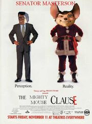 The Mighty Mouse Clause Poster