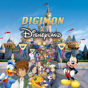 Digimon at Disneyland