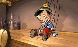 Pinocchio in the Teacher's Pet movie