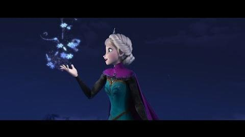 """Disney's Frozen """"Let It Go"""" Sequence Performed by Idina Menzel"""