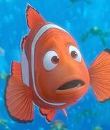 Finding nemo marlin clown fish telling joke