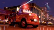 Mater as a fire engine