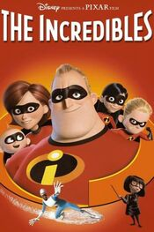 Incredibles DVD cover