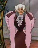 Madame Adelaide Bonfamille in Mirror