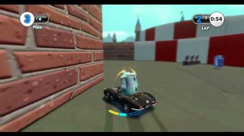 Disney Infinity Adventures - Toy Box Adventures Lap Race Reverse