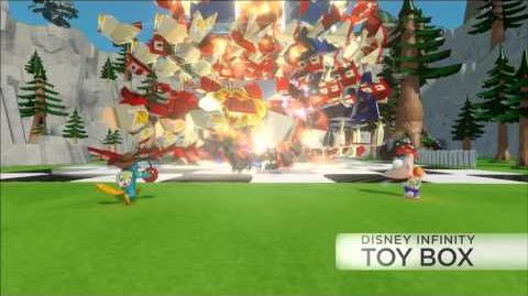 Phineas and Ferb Toy Box Pack - DISNEY INFINITY