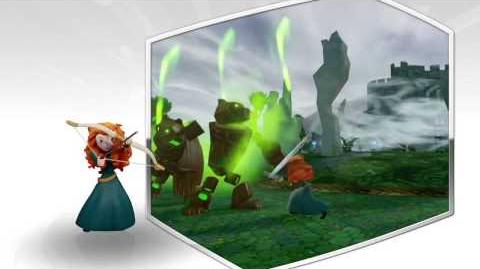 Disney Infinity 2.0 Merida preview video.