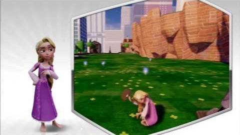 Disney Infinity - Rapunzel Character Gameplay - Series 2