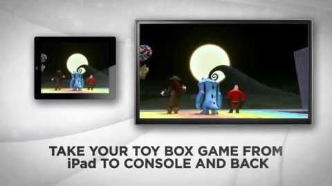 DISNEY INFINITY Toy Box App Trailer