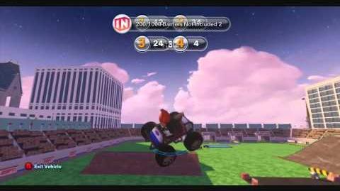 DISNEY INFINITY- Stunt Jump Arena (Featured Toy Box)