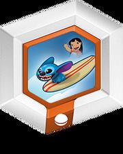 Hangin' Ten Stitch with Surfboard