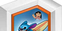 Hangin' Ten Stitch With Surfboard