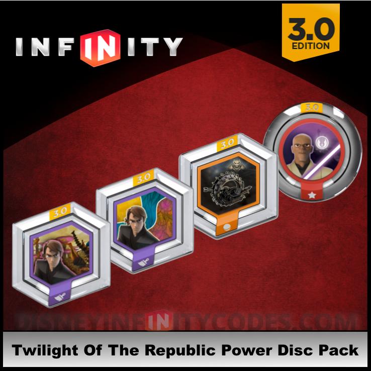 DISNEY Infinity 3.0 Power Disc Pack