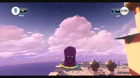 DISNEY INFINITY- Aladdin's Race (Featured Toy Box)