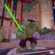 Hulk Lightsaber