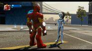 Iron Man with White Tiger