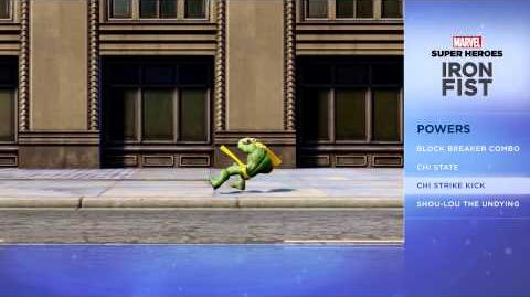 Iron Fist - Disney Infinity Marvel Super Heroes (2