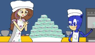 Catboy and Sage's Macarons