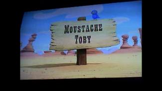 Moustache Toby titlecard