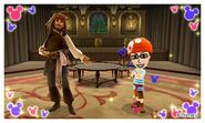 Captain Jack Sparrow and Mii Photos