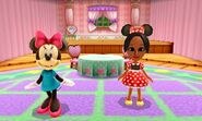 DMW2 - Minnie Mouse and Mii