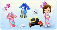 DMW - Japanese Outfits